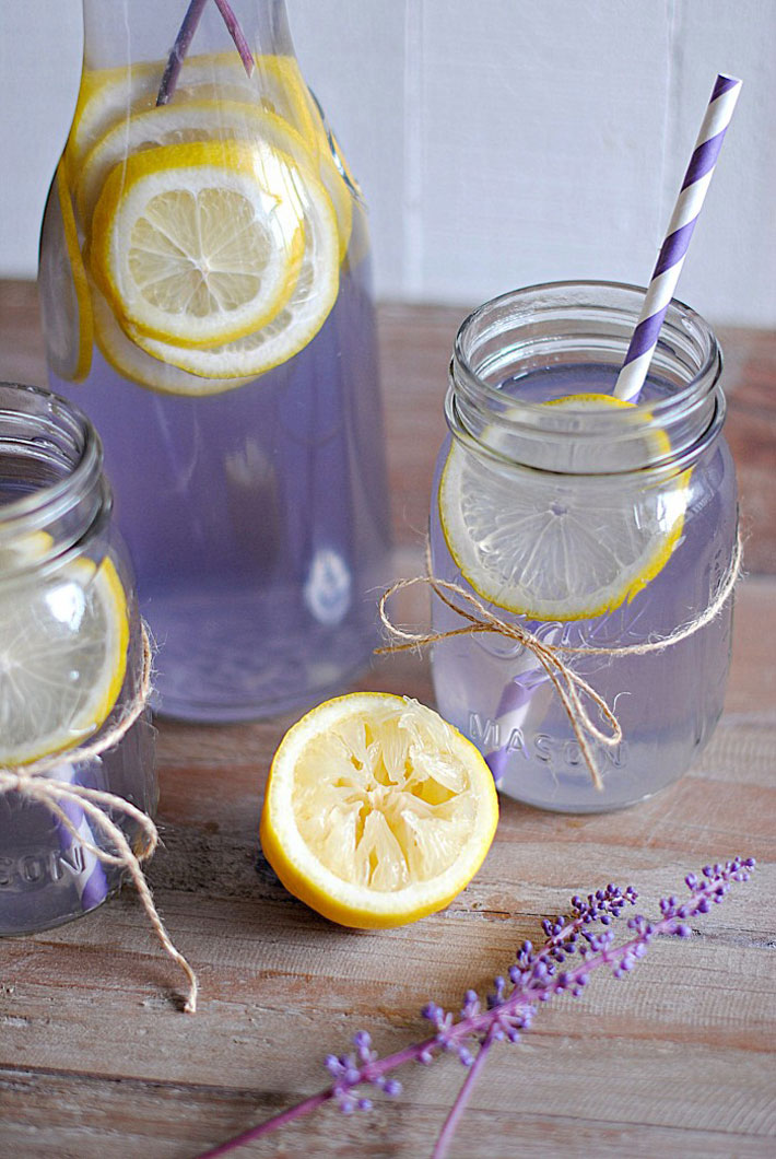 Headaches And Anxiety: Health Benefits Lavender Lemonade – Recipe