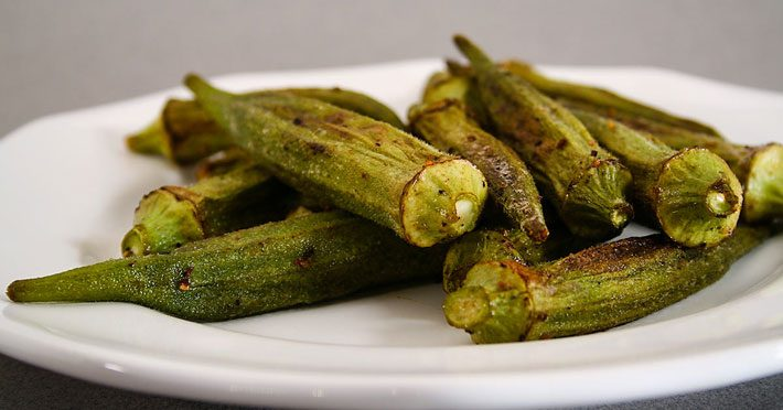 Oven Roasted Okra – Recipe