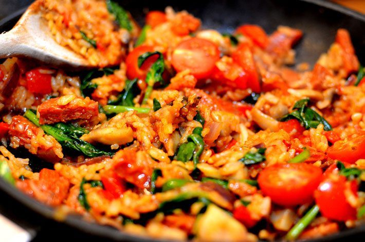 Mexican Rice With Chorizo – Keto Recipe