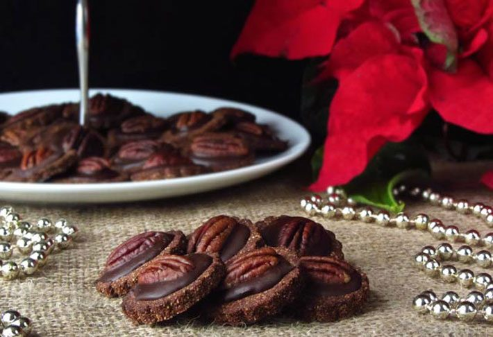 Keto Chocolate And Pecan Cookies And Benefits Of Soaking Nuts – Recipe