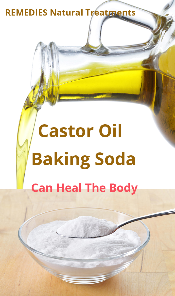 Baking Soda And Castor Oil Can Heal The Body