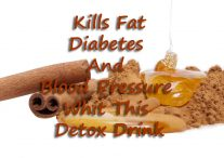 Kills Fat, Diabetes And Blood Pressure Whit This Detox Drink