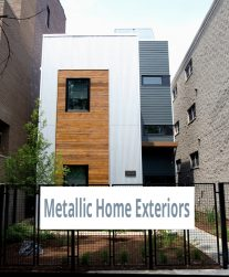 Metallic Home Exteriors