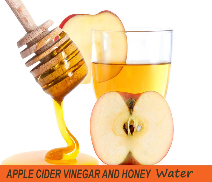 Apple Cider Vinegar And Honey Water