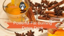 Powerful Fat Burning Detox Drink - Honey, Lemon And Cinnamon