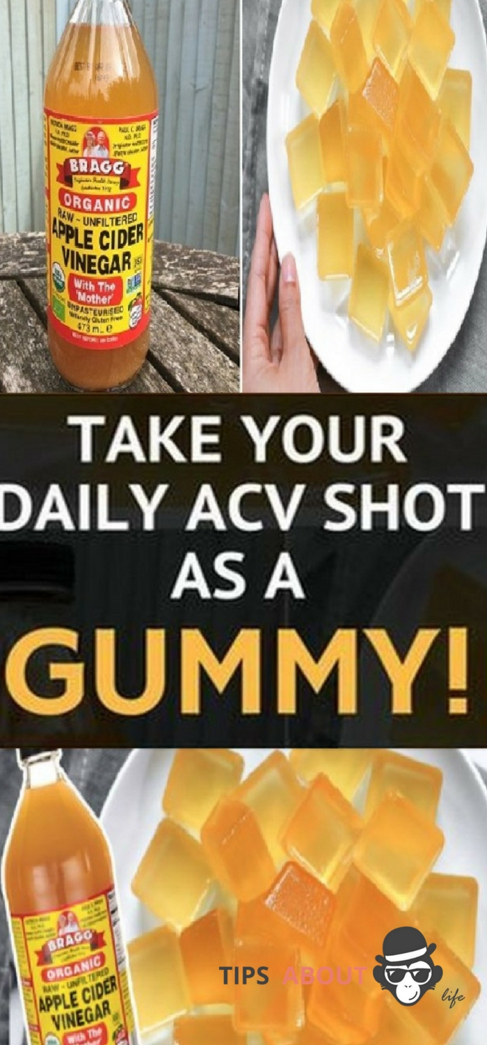 Take Your Daily ACV Shot As A Gummy!
