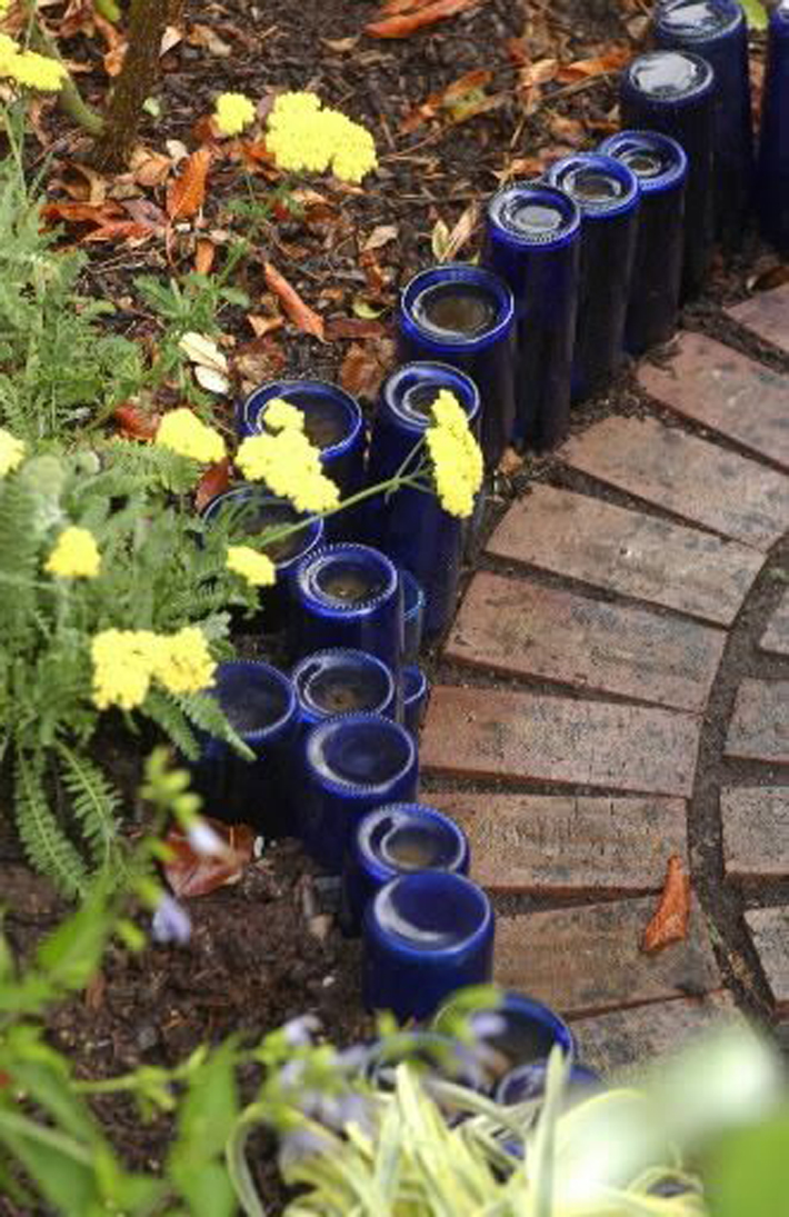 Edge Your Landscape With Recycled Materials: Garden Edging