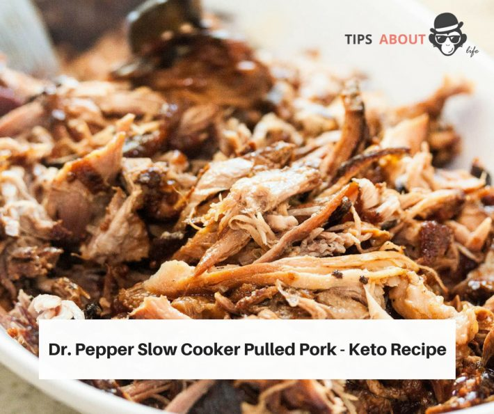 Dr. Pepper Slow Cooker Pulled Pork – Keto Recipe