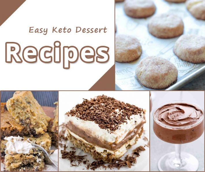 Easy Keto Dessert – Recipes
