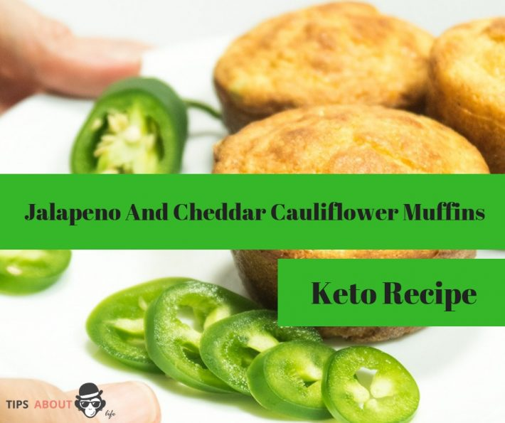 Jalapeno And Cheddar Cauliflower Muffins – Keto Recipe