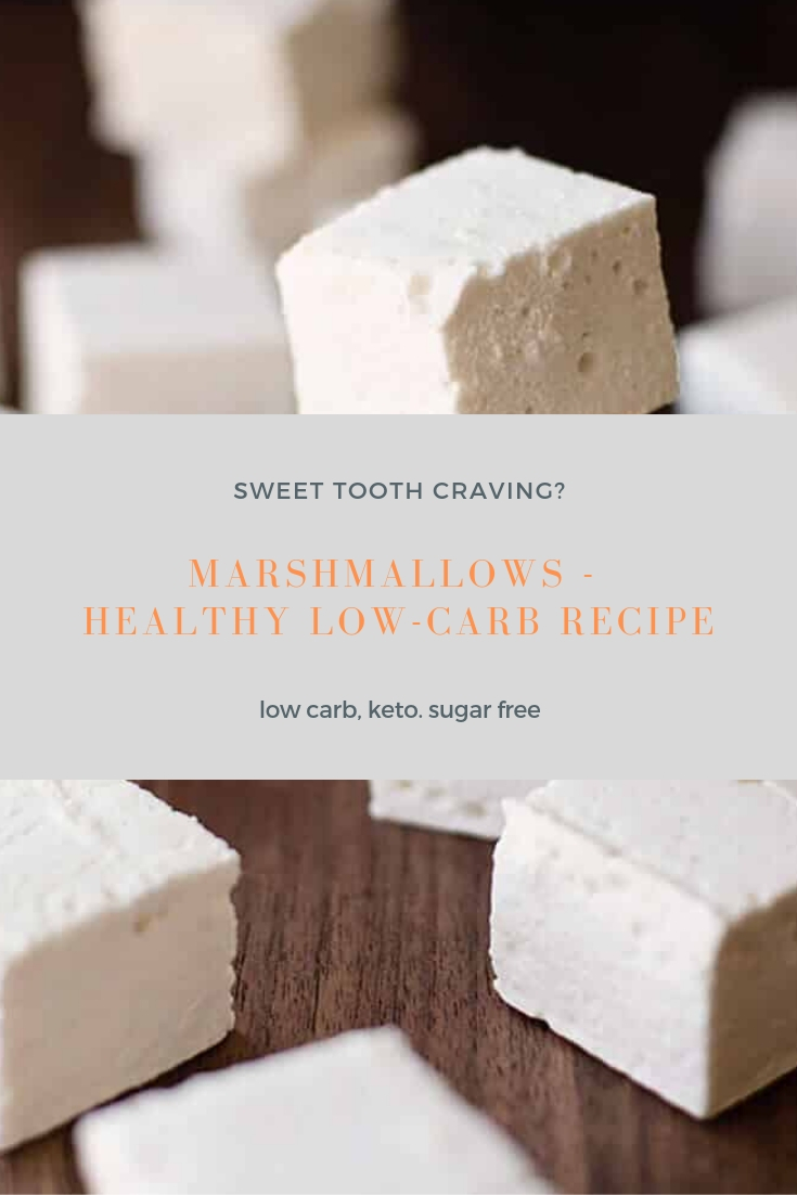 Marshmallows - Healthy Low-Carb Recipe