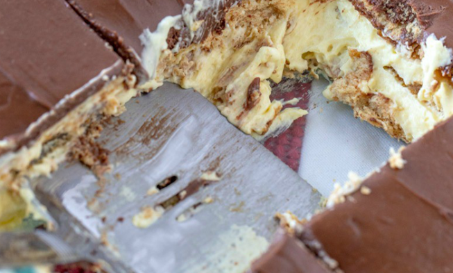 Chocolate No Bake Keto Eclair