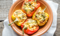 Keto Stuffed Peppers With Cauliflower Rice