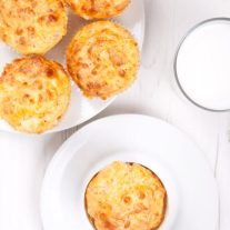Cheddar Dill Keto Biscuits