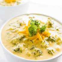 Broccoli And Cheese Cream Soup