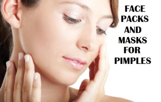 face packs treatment for pimples