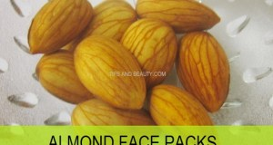 almond face pack homemade for glow and fairness