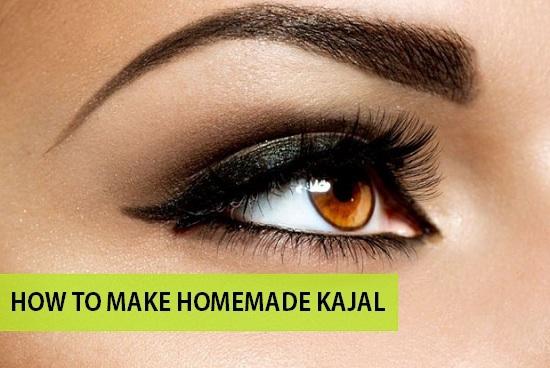 how to make homemade kajal