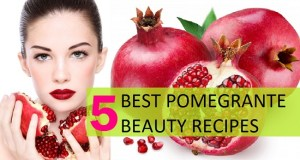 5 Best Pomegranate Beauty Recipes, Uses and Benefits