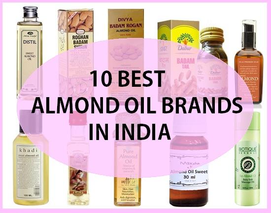 10 Best Sweet Almond Oil in India with Price