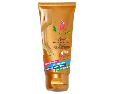 TBC By Nature Gold Hair Removal Cream