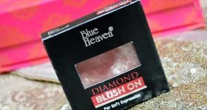 Blue Heaven Diamond Blush on Review