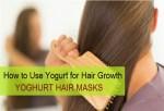 How to use Yoghurt for Hair Growth: Curd (Dahi) Hair Masks