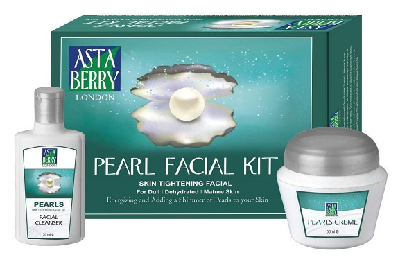 astaberry pearl facial kit
