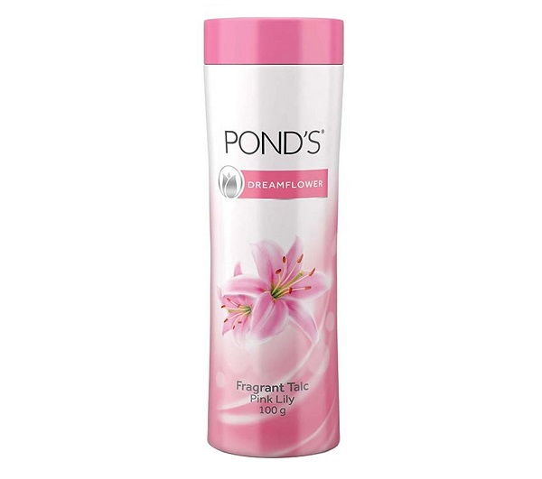 POND'S Dream Flower Fragrant Talc in Pink Lilly