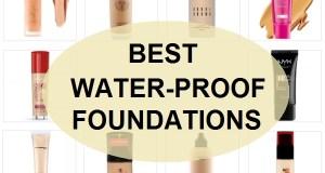 best waterproof foundations in India