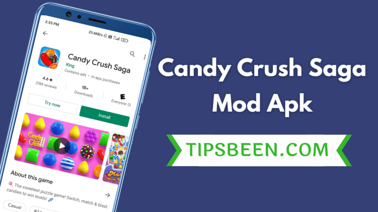 Candy Crush Saga Mod Apk Download November 2020 (Unlimited lives and Boosters)