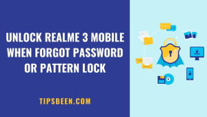 How to Unlock Realme 3 Forgot Password