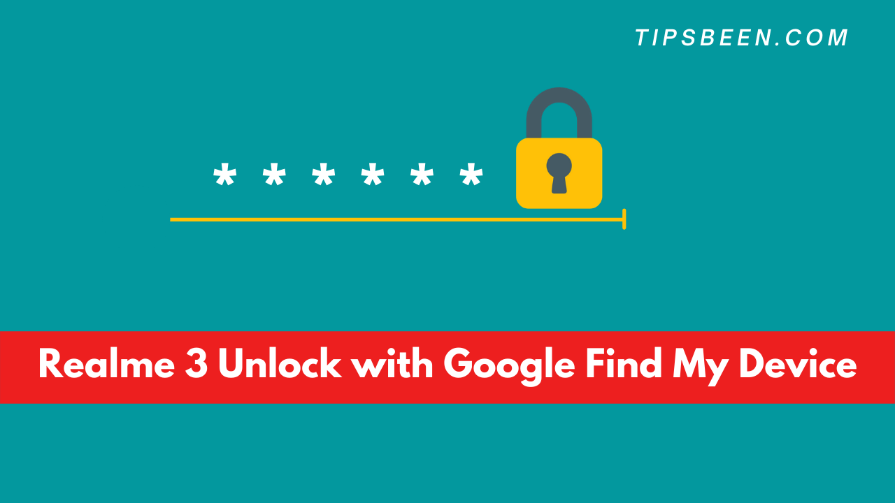 Realme 3 Unlock with Google Find My Device