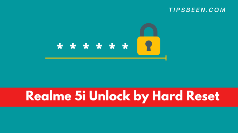Realme 5i Unlock by Hard Reset