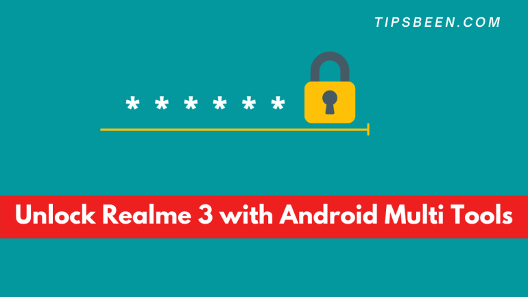 Unlock Realme 3 with Android Multi Tools