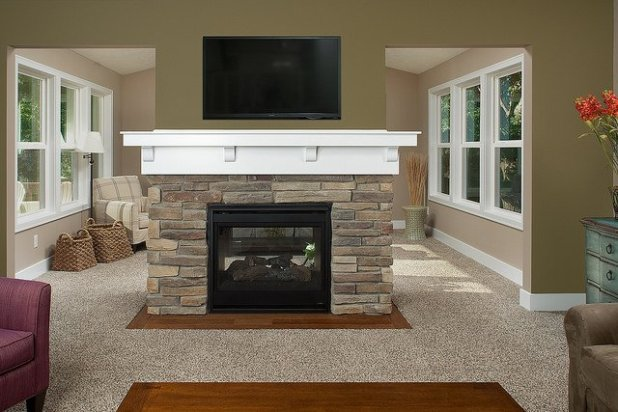 Home fire place