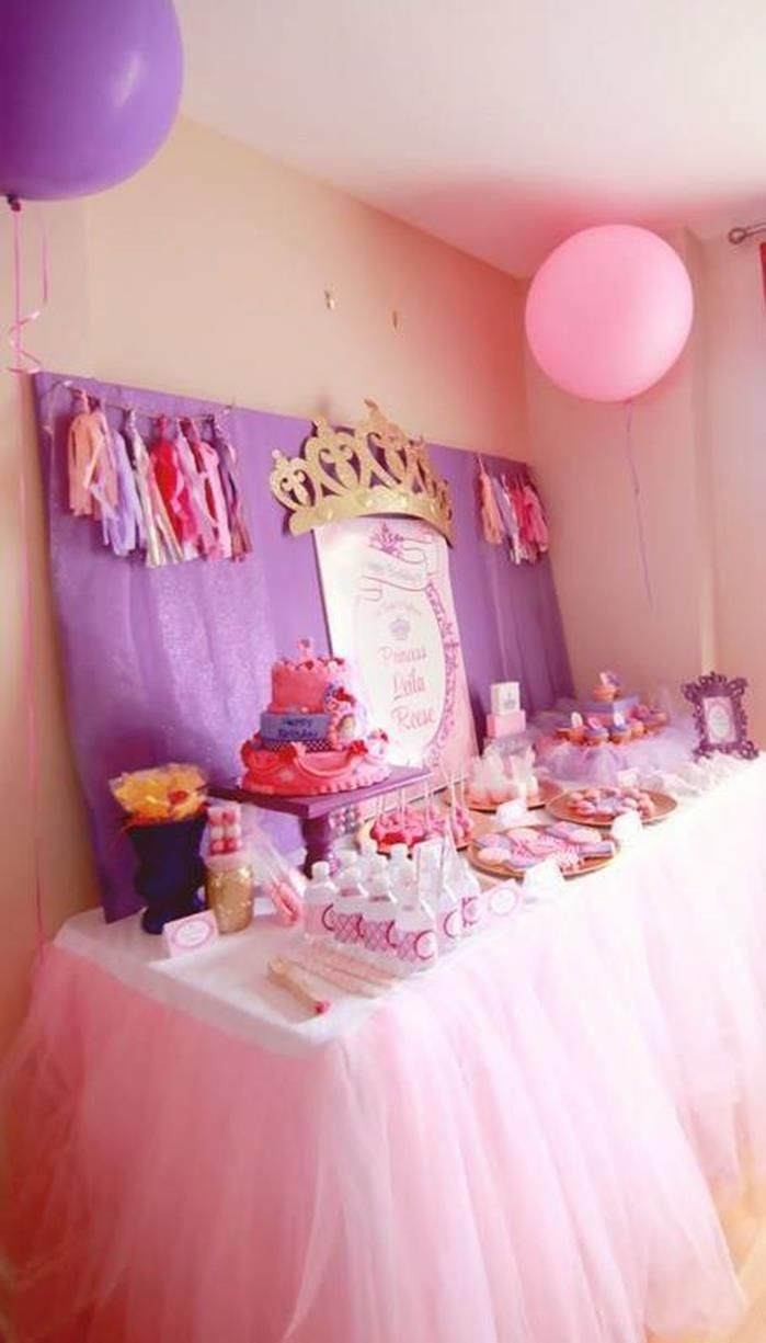 Cumpleaos decorado de Princesa Sofa  Tips de Madre
