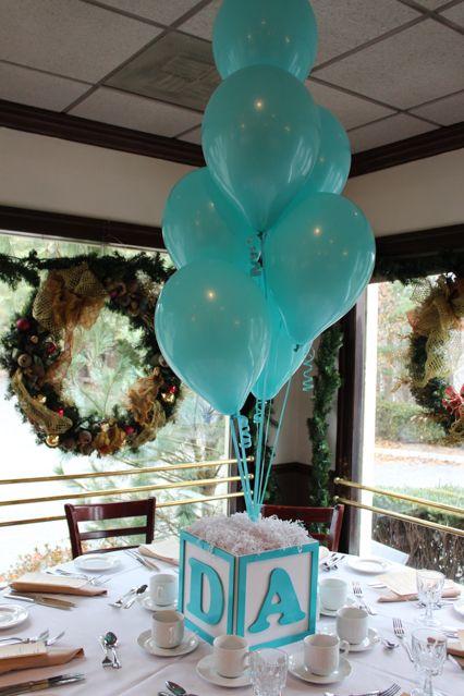Ideas decorativas para un baby shower para nio