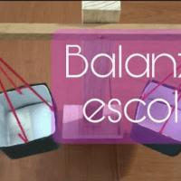 Como hacer una balanza casera escolar