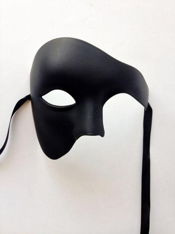 mascara de media cara