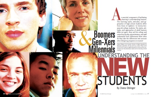 Boomers Gen-Exers, Millennials