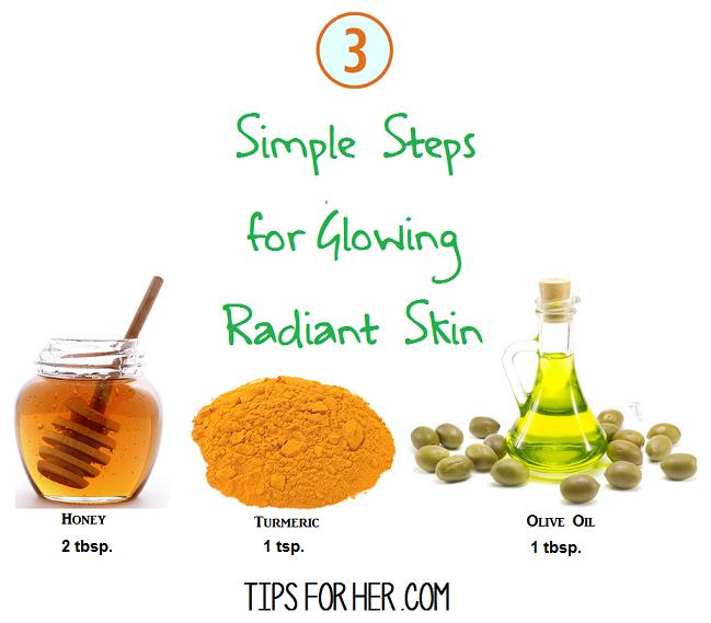 DIY Glowing Radiant Skin