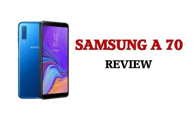 Samsung Galaxy A70 Review। Best Smartphone For Youtube Videos And Vlogging.