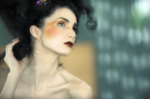 Contoh Foto Model CloseUp