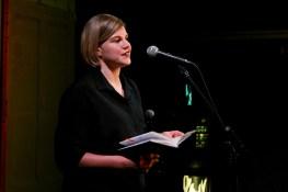 Inga Hilbig beim Diary Slam