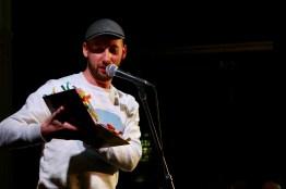 Tobias Kunze beim Diary Slam am 24.04.18