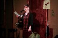 Peggy Luck beim Topical Island Poetry Slam - Thema Drunk Slam am 22. Mai 2018 im Beyerhaus