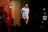 Skog Ogvann liest beim Topical Island Poetry Slam - Thema Drunk Slam am 22. Mai 2018 im Beyerhaus