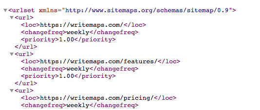 Picture 1 of How to create a sitemap for websites