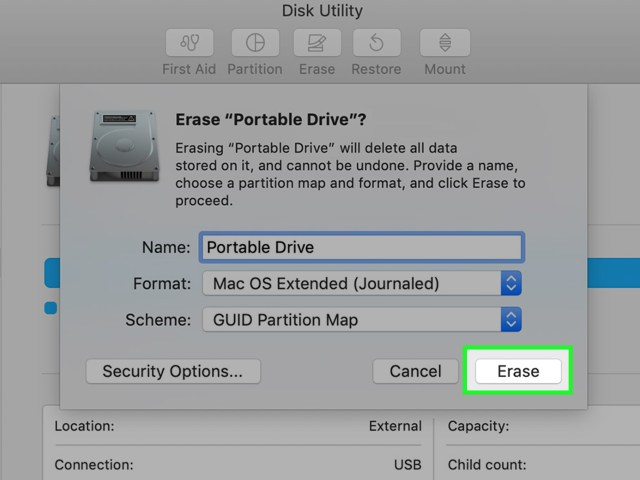 How to Format a Write–Protected Pen Drive